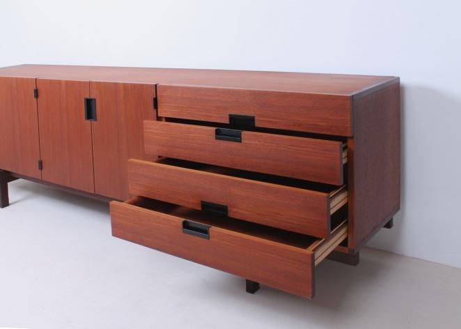 Anrichte-buffet-pastoe-japan-japanese-series-holz-dutch-design-vintage-antique-conception-credenza-wood-néerlandais-Holländisch-2