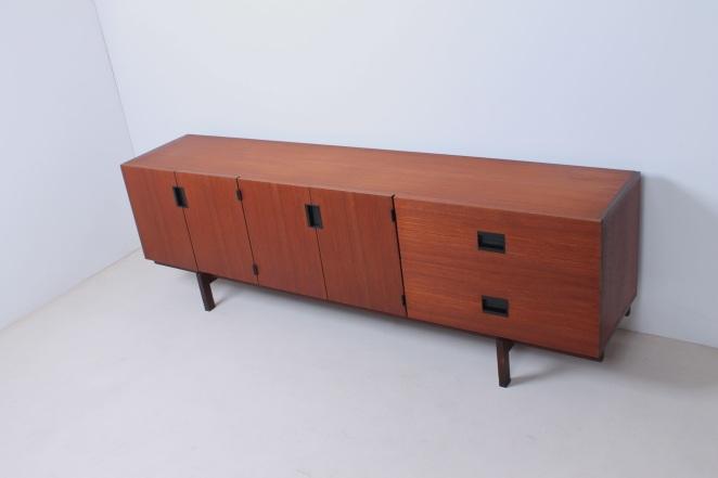 Anrichte-buffet-pastoe-japan-japanese-series-holz-dutch-design-vintage-antique-conception-credenza-wood-néerlandais-Holländisch