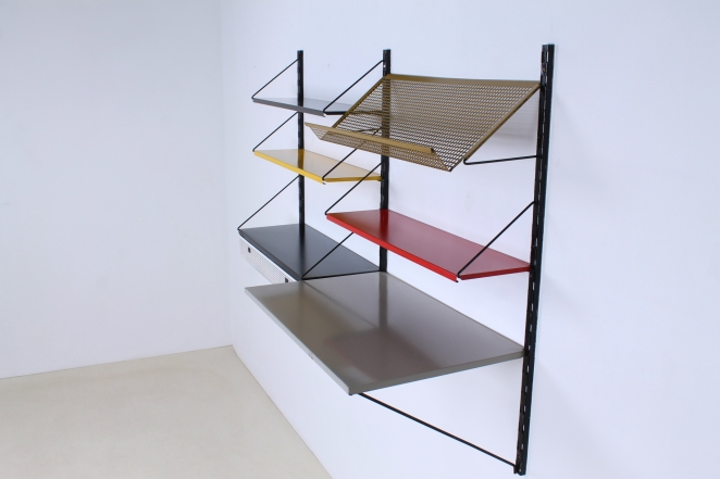 aa1-pilastro-shelving-unit-wall-modular-colors-colored-system-fifties-midcentury-design-vintage-perforated-tomado-like-shelfs-drawerbox-tjerk-reijenga-2