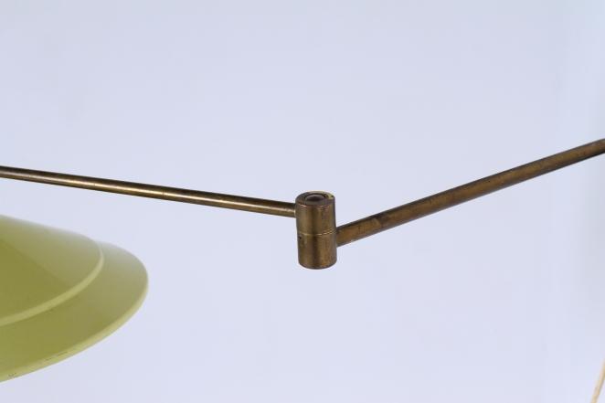anvia-yellow-adjustable-wall-light-panama-shade-swinging-arm-fifties-dutch-design-modernist-metal-minimal-5