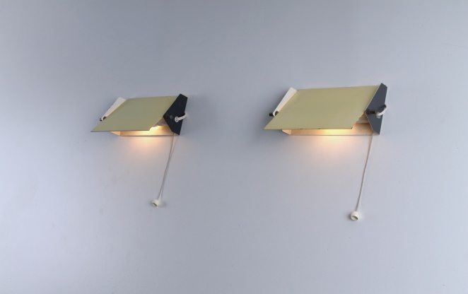 anvia-yellow-wall-sconces-lighting-lamps-perriand-mategot-pilastro-tomado-style-fifties-industrial-klaplamp-bedlamp-jaren-50-60-vijftig-2