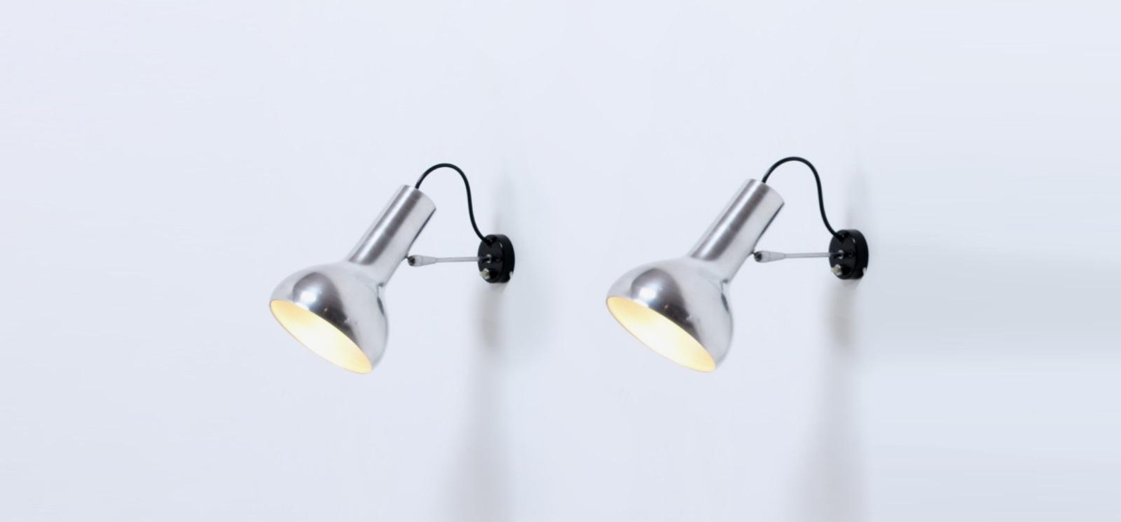 arteluce sarfatti nr 7 wall lights 1957 cencity