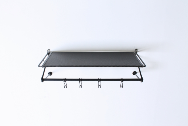 artimeta-soest-black-coat-rack-wall-console-fiedeldij-mategot-metal-perforated-fifties-dutch-french-design-5