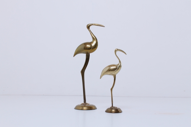 brass-flamingo-animal-bird-figures-metal-decoration-copper-big-small-vintage-design-hollywood-regency-deco-1