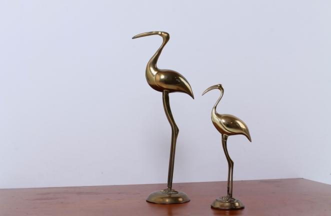 brass-flamingo-animal-bird-figures-metal-decoration-copper-big-small-vintage-design-hollywood-regency-deco-6
