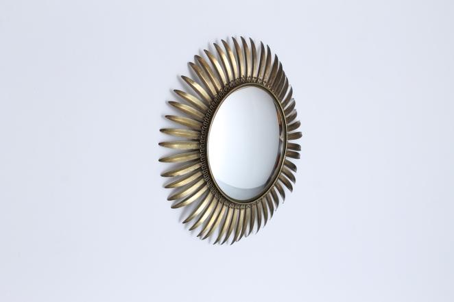 brass-sunburst-mirror-leafs-metal-convex-glass-fifties-vintage-hollywood-regency-midcentury-1