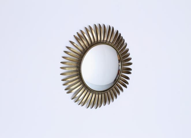 brass-sunburst-mirror-leafs-metal-convex-glass-fifties-vintage-hollywood-regency-midcentury-3