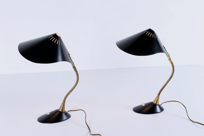 cosack-leuchten-germany-brass-leaf-shape-ray-fish-black-kalff-vintage-midcentury-desk-table-light-7