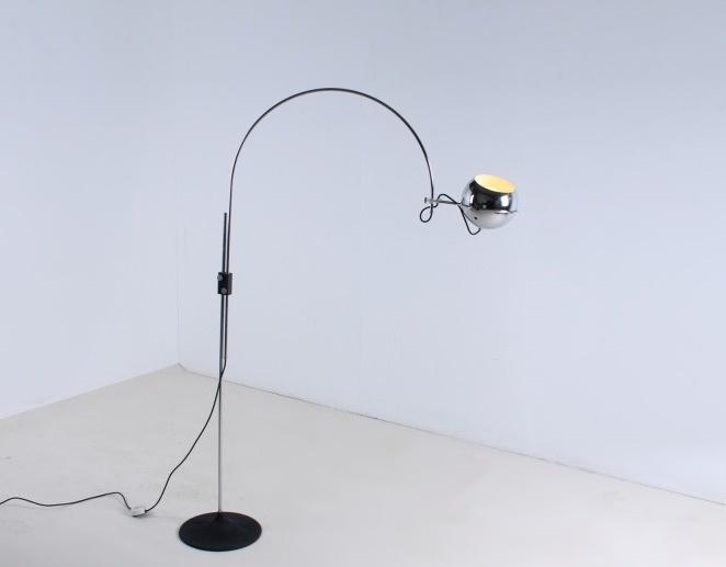 gepo-holland-floor-light-chrome-sphere-globe-arc-eye-sixties-jaren-60-vintage-metal-industrial-design-1