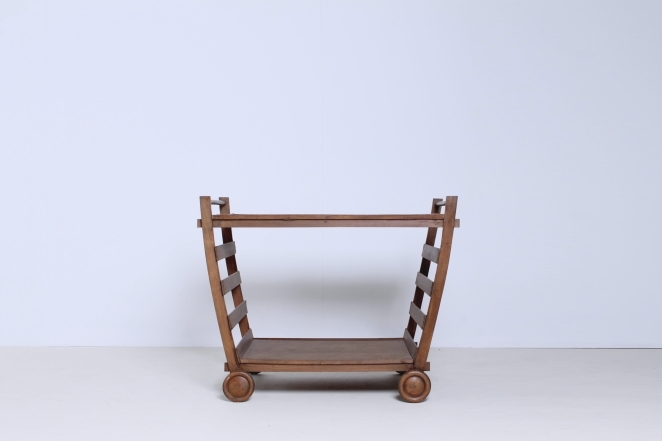 gerrit-rietveld-theewagen-tea-trolley-rare-second-world-war-furniture-timber-design-progressive-art-groenekan-atelier-