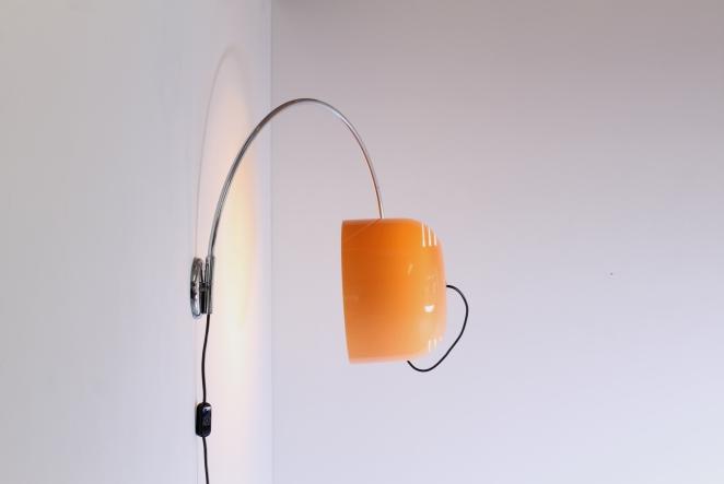 Guzzini Luigi Massoni Arc Shaped Wall Light Cencity Nl