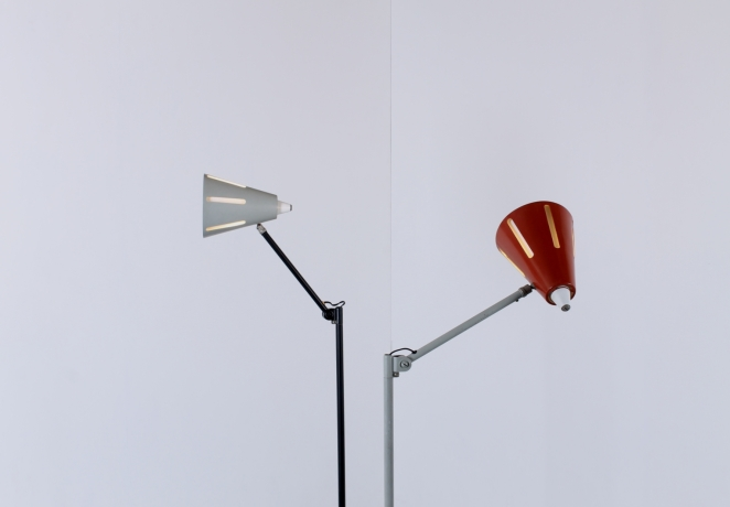 hala-sun-series-t-busquet-vintage-minimalist-floor-light-dutch-design-red-grey-zonneserie-2