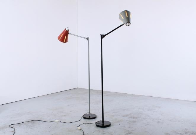 hala-sun-series-t-busquet-vintage-minimalist-floor-light-dutch-design-red-grey-zonneserie-4