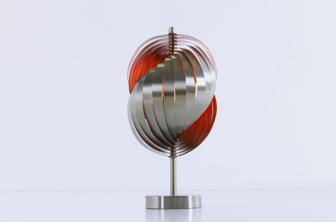 henri-mathieu-lumieres-lyfa-table-desk-light-spiral-metal-space-age-orange-stainless-steel-eclisse-shell-lamellae-sixties-design-vintage-6