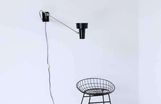 industrial-lighting-black-chrome-adjustable-light