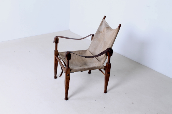 kaare-klint-safari-chair-rud-rasmussen-carl-hansen-canvas-wood-travelling-danish-furniture-design-20th-century-midcentury-folding-vintage-objet-trouve-portable-2