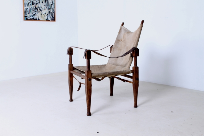 kaare-klint-safari-chair-rud-rasmussen-carl-hansen-canvas-wood-travelling-danish-furniture-design-20th-century-midcentury-folding-vintage-objet-trouve-portable-3