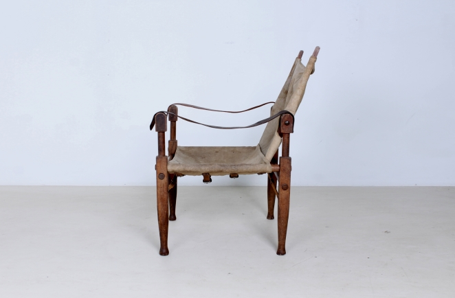 kaare-klint-safari-chair-rud-rasmussen-carl-hansen-canvas-wood-travelling-danish-furniture-design-20th-century-midcentury-folding-vintage-objet-trouve-portable-4