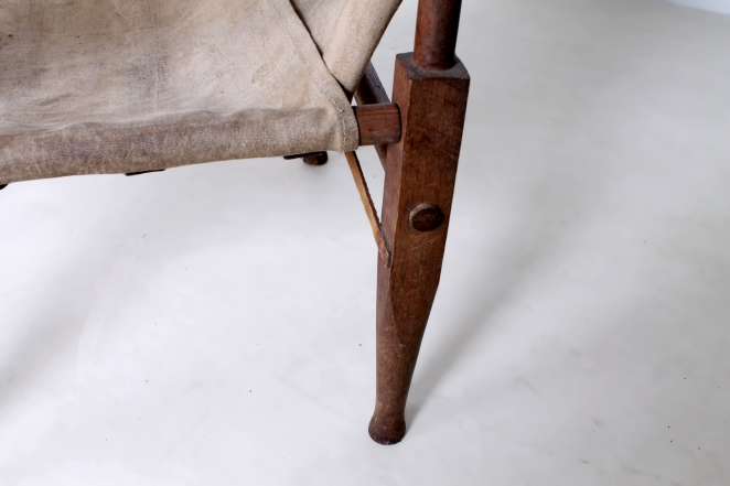 kaare-klint-safari-chair-rud-rasmussen-carl-hansen-canvas-wood-travelling-danish-furniture-design-20th-century-midcentury-folding-vintage-objet-trouve-portable-7