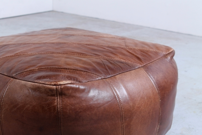 leather-pouf-quality-thick-leather-patchwork-stool-ottoman-chair-vintage-design-hassock-footrest-2