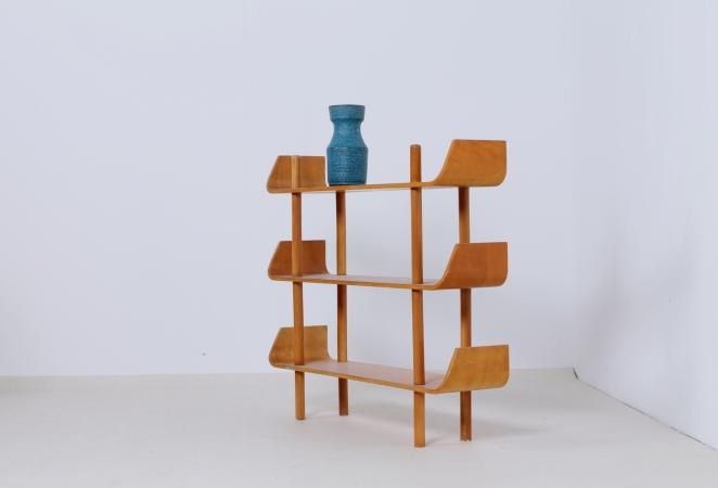 lutjens-gouda-den-boer-plywood-book-case-vintage-birch-wood-1