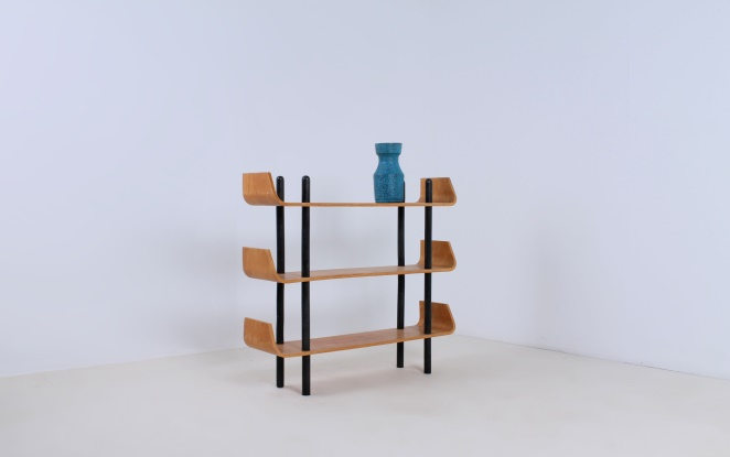 lutjens-gouda-den-boer-plywood-wood-shelving-book-case-vintage-dutch-design-rare-loft-post-war-designers-birch-timber-pastoe-like-1