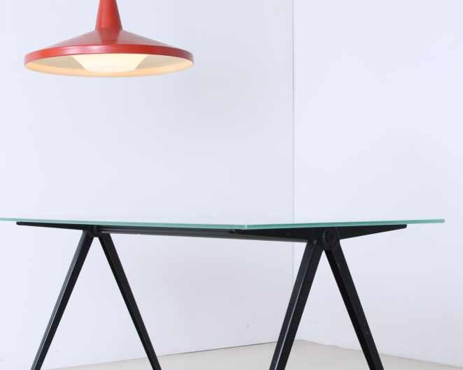 marko-pyramid-compass-base-low-small-coffee-table-friso-kramer-prouve-wim-rietveld-style-midcentury-industrial-vintage-2