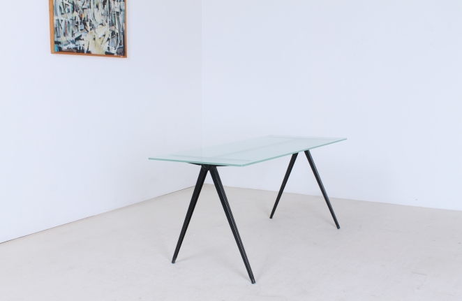 marko-pyramid-compass-base-low-small-coffee-table-friso-kramer-prouve-wim-rietveld-style-midcentury-industrial-vintage-8