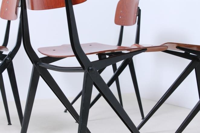 marko-schoolchair-industrial-dutch-vintage-design-friso-kramer-prouve-style-black-5
