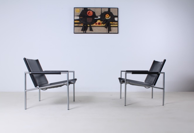martin-visser-SZ02-lounge-chair-vintage-saddle-leather-black-SZ-02-spectrum-1965-10