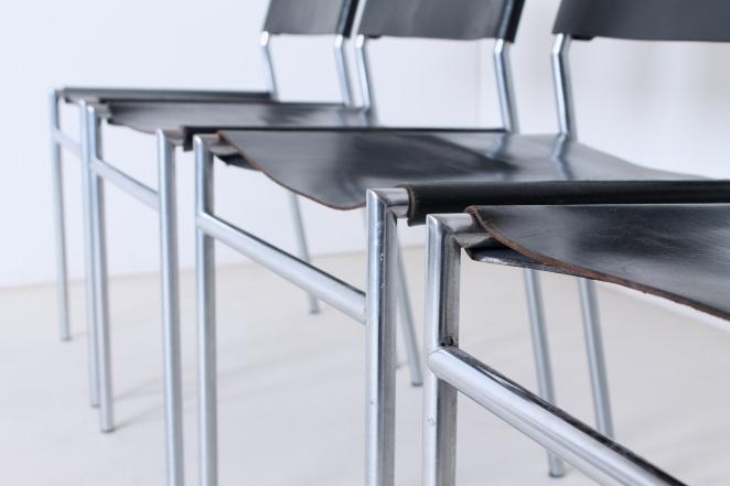 martin-visser-spectrum-dining-dinner-chairs-black-leather-SE-06-se06-vintage-modernism-dutch-design-chrome-steel-minimalism-10