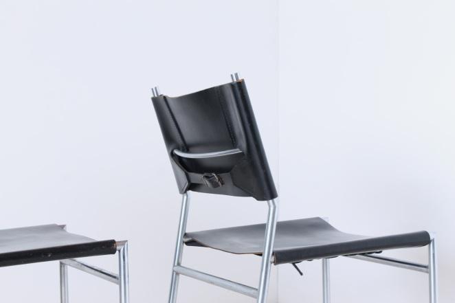 martin-visser-spectrum-dining-dinner-chairs-black-leather-SE-06-se06-vintage-modernism-dutch-design-chrome-steel-minimalism-4