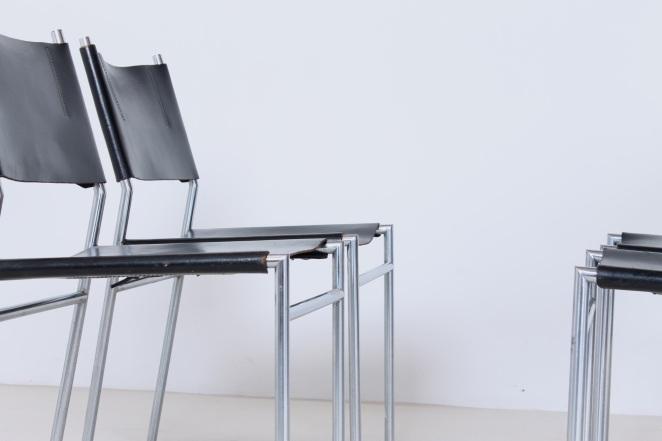 martin-visser-spectrum-dining-dinner-chairs-black-leather-SE-06-se06-vintage-modernism-dutch-design-chrome-steel-minimalism-6
