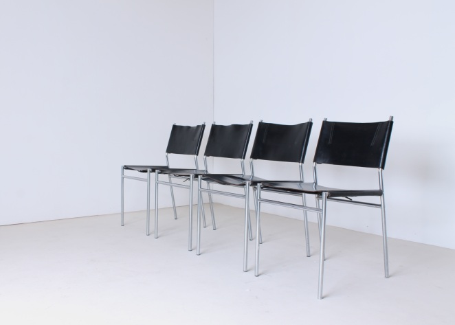 martin-visser-spectrum-dining-dinner-chairs-black-leather-SE-06-se06-vintage-modernism-dutch-design-chrome-steel-minimalism-7