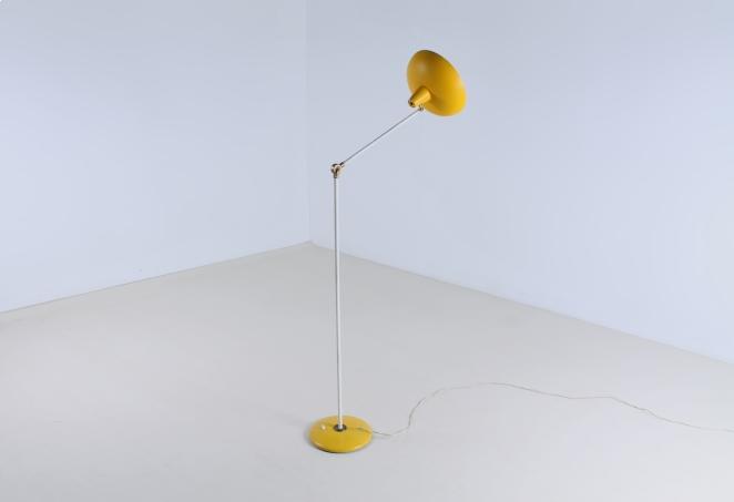 metal-floor-light-anvia-dutch-design-modernist-yellow-white-brass-vintage-fifties-adjustable-minimal-cencity-6