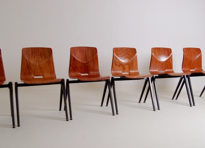 pagholz-brown-galvanitas-stacking-coupling-chairs-fifties-rietveld-prouve-friso-kramer-style-industrial-dutch-2