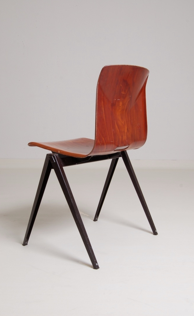 pagholz-brown-galvanitas-stacking-coupling-chairs-fifties-rietveld-prouve-friso-kramer-style-industrial-dutch-7