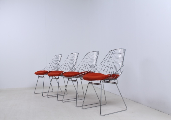 pastoe-chrome-wire-chairs-SM05-cees-braakman-fifties-design-furniture-1
