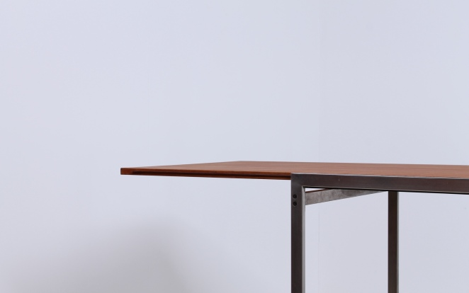Pastoe extensible dining table cees braakman 1960ies Table extensible 80 cm de large