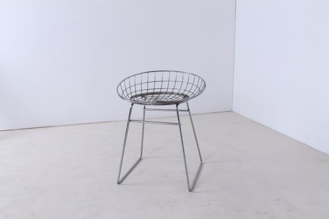 pastoe-metal-wiring-steel-iron-stools-seating-vintage-design-cees-braakman-chrome-plated-chromed-edition-set-5