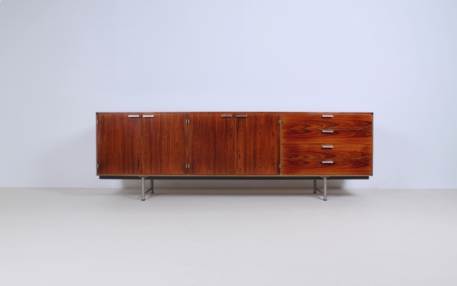 pastoe-ums-CR-series-cees-braakman-rosewood-palissander-credenza-sideboard-low-board-vintage-cencity-storage-cabinet-commode-kast-hout-wood-timber-3