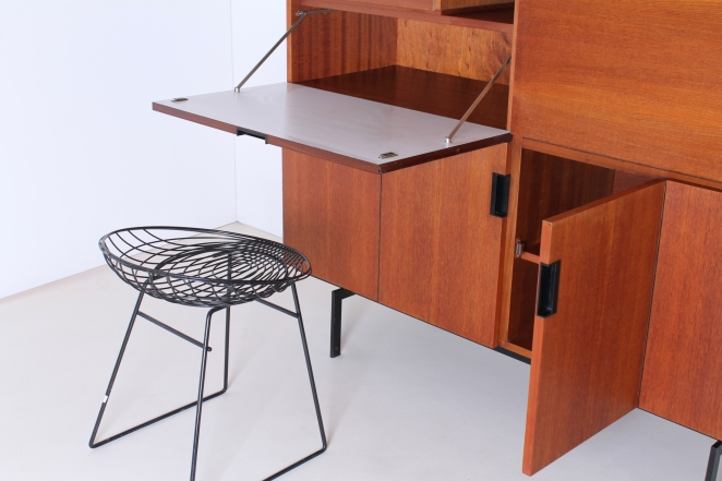 Pastoe Cees Braakman High Cabinet Japanese Series 1950ies