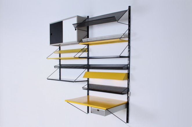 pilastro-unit-b-yellow-tjerk-reijenga-modular-system-rare-parts-industrial-cabinet-metal-furniture-dutch-design-tomado-mategot-midcentury-writing-desk-black-colors-2