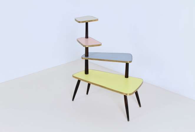 plant-stand-display-jewely-knick-knacks-fifties-pastel-brass-colors-furniture-small-2