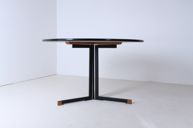 polak-ap-ap103-originals-hein-salomonson-round-dining-dinner-table-dutch-industrial-design-formica-tripod-minimalist-modernistic-furniture-goed-wonen-3