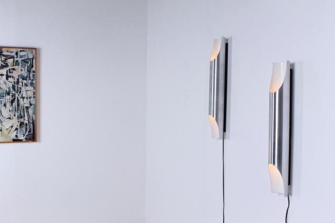 raak-fugue-wall-lighting-lights-pair-big-large-xl-edition by-1970-design-maija-liisa-komulainen-design-holland-amsterdam-vintage-pipes-aluminium-4
