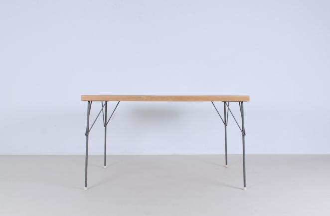 rietveld-gispen-model-116-chair-table-3705-1953-linoleum-birch-berken-bureel-vintage-wood-dutch-vintage-cencity-2