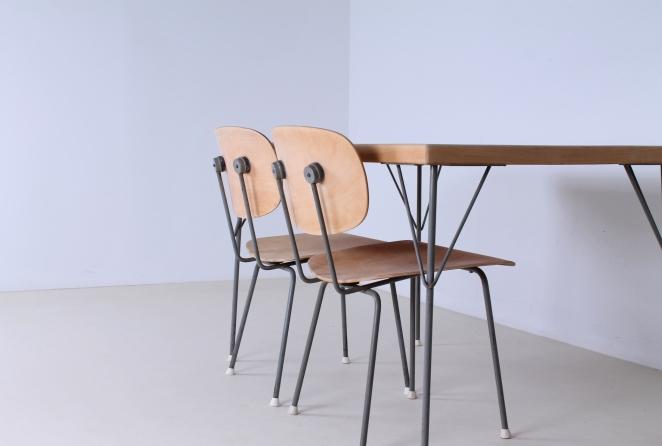 rietveld-gispen-model-116-chair-table-3705-1953-linoleum-birch-berken-bureel-vintage-wood-dutch-vintage-cencity-3