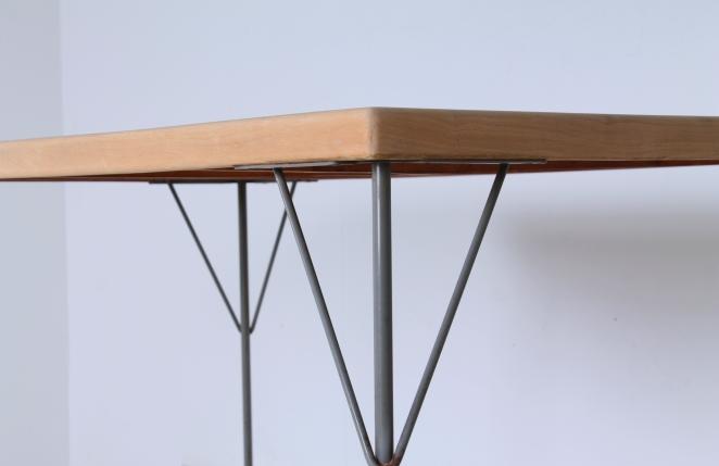 rietveld-gispen-model-116-chair-table-3705-1953-linoleum-birch-berken-bureel-vintage-wood-dutch-vintage-cencity-4