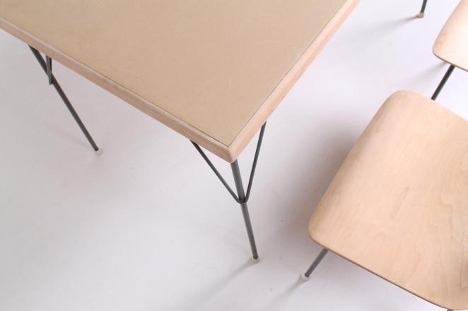 rietveld-gispen-model-116-chair-table-3705-1953-linoleum-birch-berken-bureel-vintage-wood-dutch-vintage-cencity-7
